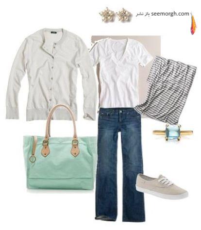 توصیه هایی برای نحوه ست کردن لباس با کفش کتانی(+عکس)  www.TAFRIHI.com