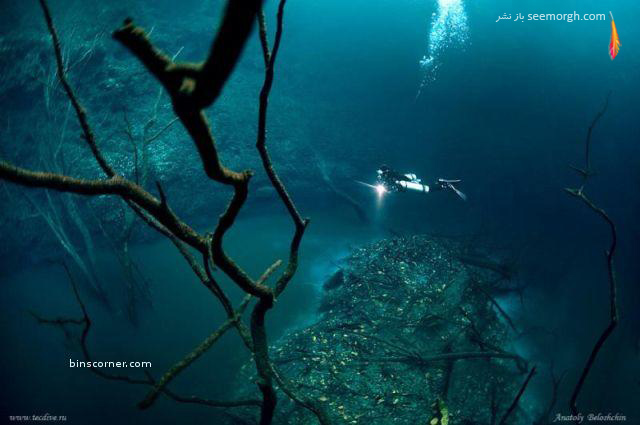 رودخانهای عجیب در زیر دریا!! (+عکس)