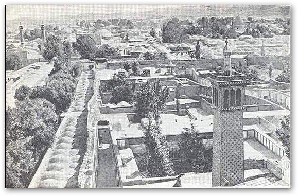 نمای بالا از شهر تهران