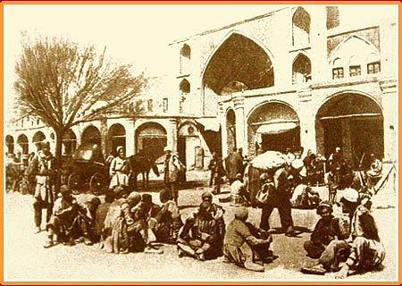 سبزه میدان تهران در دوره قاجار