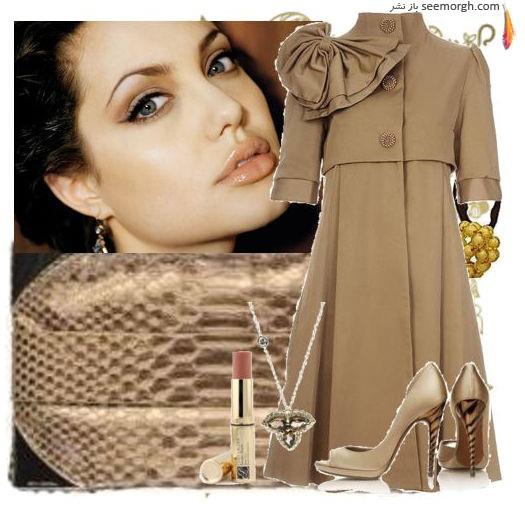 لباسهای انجلینا جولی