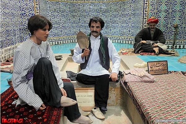 تصاویر موزه مردم شناسی کرمان در حمام گنجعلی خان