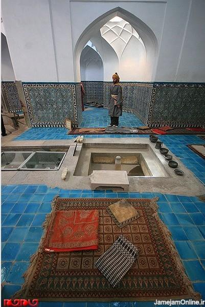 حمام گنجعلی خان میراثی از دوره صفوی در کرمان
