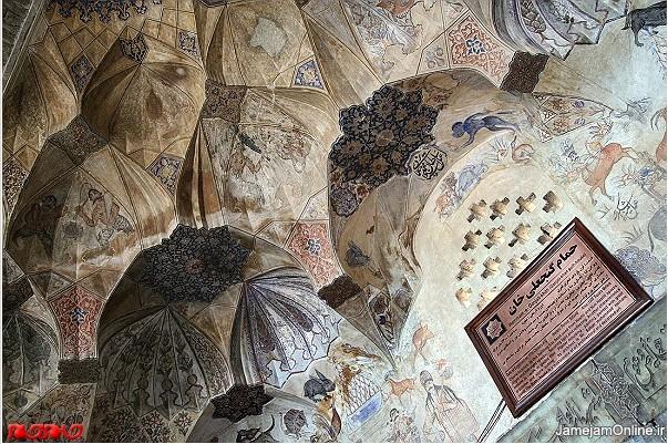 تزئینات معماری حمام گنجعلی خان کرمان