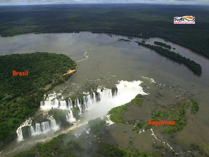 تصاویر رودخانهای که سه کشور را از یکدیگر جدا میسازد  www.TAFRIHI.com