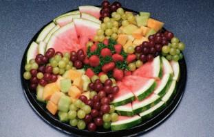 تزیین شماره 6 برای هندوانه شب یلدا
