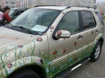 زیباترین تصاویر نقاشی شده برروی ماشینها! www.TAFRIHI.com