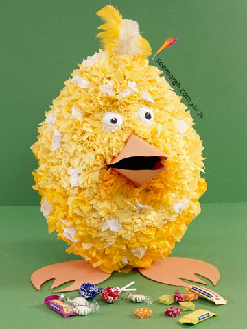 تزئین تخم مرغ سفره هفت سین برای کودکان