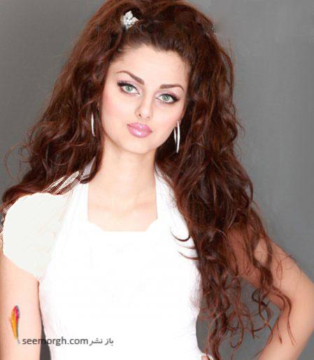 زیبا ترین دختر ایرانی  مهلقا جابری
