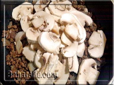 گراتن,گراتن بادمجان,طرز تهیه گراتن بادمجان,انواع گراتن,مرحله سوم برای تهیه گراتن بادمجان
