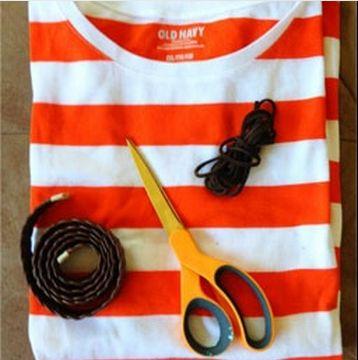 خلاقیت ، کیف تی شرت ، ساخت کیف با تی شرت