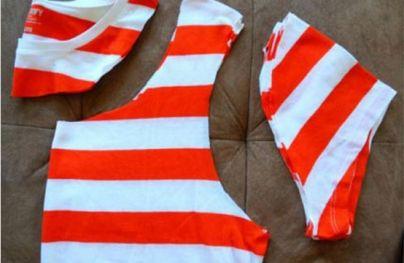 خلاقیت ، تی شرت کیف ، ساخت کیف با تی شرت
