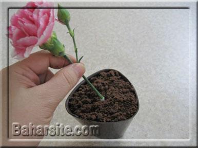 دسر گلدانی,مرحله سیزدهم تهیه دسر گلدانی
