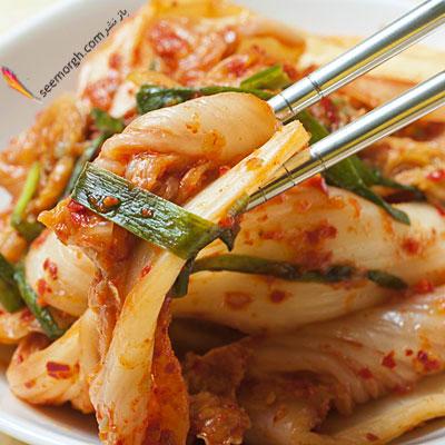 بهترین ماده غذایی برای معده : کیمچی