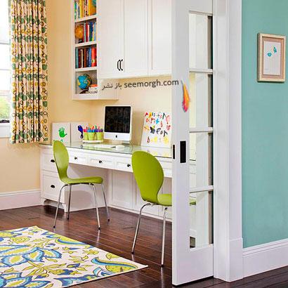 رنگ  تمامی اتاق ها با هم هماهنگ باشند