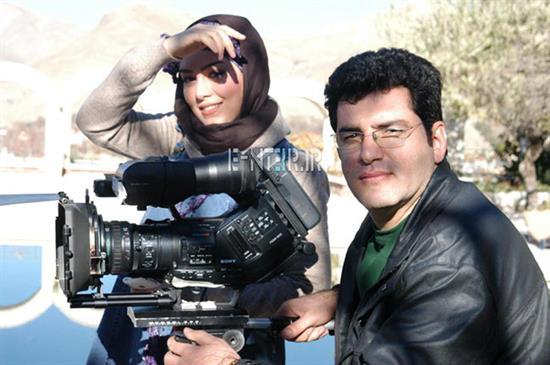 سحر قریشی و همسرش//عکس