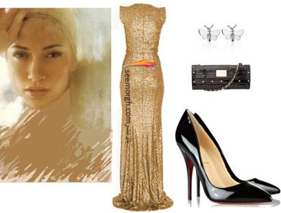 ست کردن لباس شب به سبک جنیفر لوپز Jennifer Lopez
