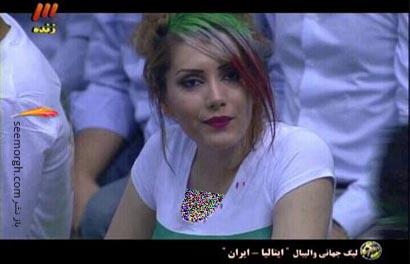 عکس الهام عرب بدون سانسور