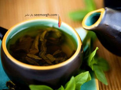 چای سبز و داشتن شکمی تخت و صاف