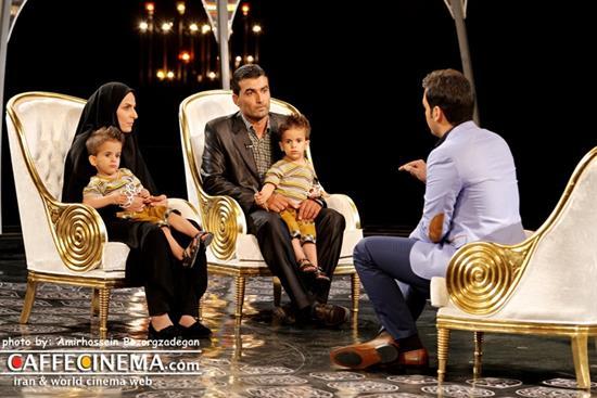 هلال ماه دردسرساز برنامه امسال ماه عسل عکسهایی از پنج روز ماه عسل با احسان علیخانی