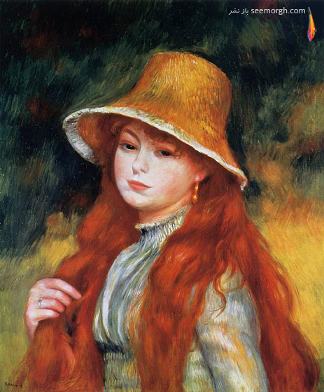 آثار پیر آگوست رنوآر نقاش بزرگ فرانسوی
