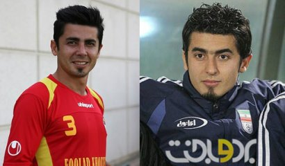 بازیکنان فوتبال ایرانی که بینی خود را عمل کردند/تصاویر