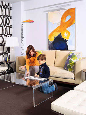 استفاده از فضاهای پرت,دکوراسیون آپارتمانهای کوچک برای زوجهای جوان