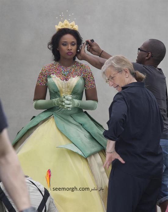 جنیفر هادسون در نقش پرنسس تیانا در انیمیشن «پرنسس و قورباغه»