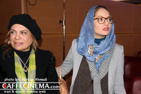 گزارش تصویری نیکی کریمی و مهناز افشار در حاشیه جشنواره فجر