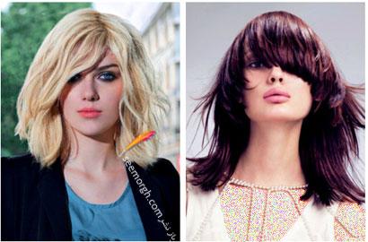 بهترین مدل ها و رنگ موها مخصوص عید نوروز,رنگ مو برای بهار - شماره 4