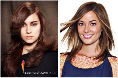 رنگ مو برای بهار - شماره 6,بهترین مدل ها و رنگ موها مخصوص عید نوروز