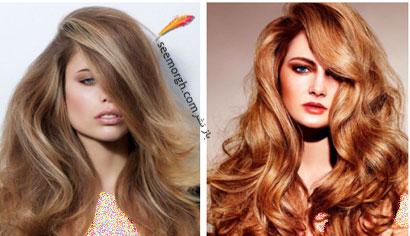 رنگ مو برای بهار - شماره 9,بهترین مدل ها و رنگ موها مخصوص عید نوروز