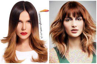 بهترین مدل ها و رنگ موها مخصوص عید نوروز,رنگ مو برای بهار - شماره 10