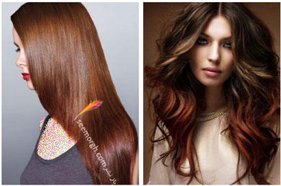 رنگ مو برای بهار - شماره 12,بهترین مدل ها و رنگ موها مخصوص عید نوروز