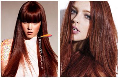رنگ مو برای بهار - شماره 14,بهترین مدل ها و رنگ موها مخصوص عید نوروز