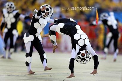 تصاویر افتتاحیه جام جهانی 2014