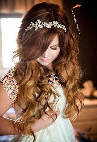 مدل موی عروس برای تابستان 2014 - مدل شماره 1
