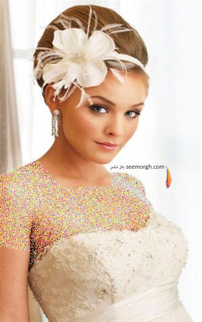 مدل موی عروس برای تابستان 2014 - مدل شماره 5