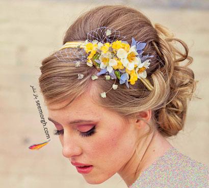 مدل موی عروس برای تابستان 2014 - مدل شماره 9