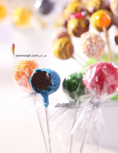 شکلات هایی با روکش دانه های شکری رنگی برای ماه رمضان