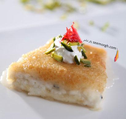 kunafa با پنیر مخصوص ماه رمضان