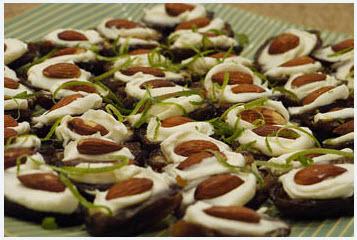 تزیین خرما برای سفره افطار ماه رمضان 4