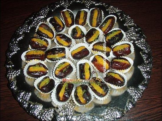 تزیین خرما برای سفره افطار ماه رمضان 8