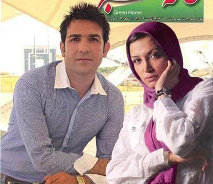 عکس روناک یونسی در کنار همسرش
