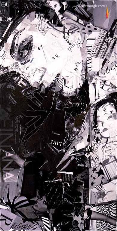 هنرمندی که آثارش را با روزنامههای دورریختنی خلق میکند! (+عکس) www.TAFRIHI.com