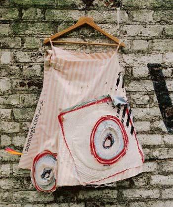 این دامن است یا بوم نقاشی ؟! www.TAFRIHI.com