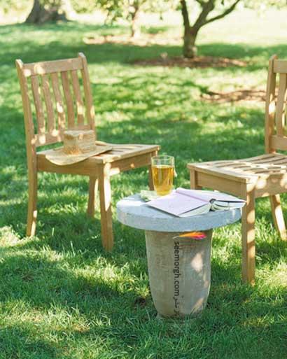 ایده هایی برای دکوراسیون با سنگ ! www.TAFRIHI.com