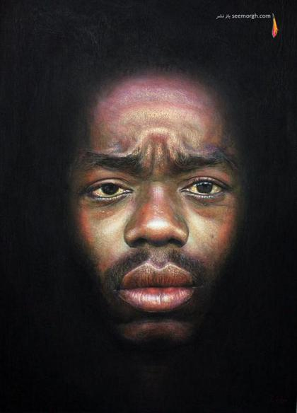 پرترههایی بسیار واقعی وقتی احساس وارد نقاشی میشود! www.TAFRIHI.com سایت تفریحی