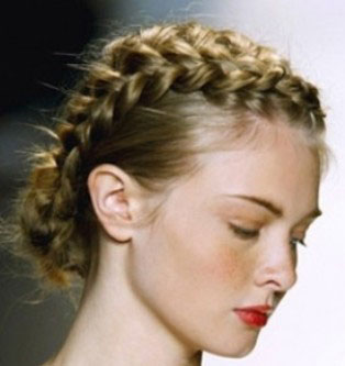 French braid styles.